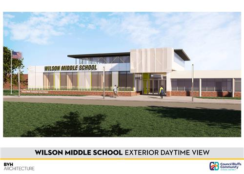 Proposed New Design of Wilson Middle School