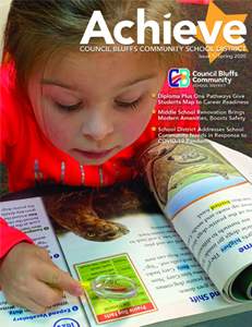 New Achieve Magazine Features Stories of Students and Staff