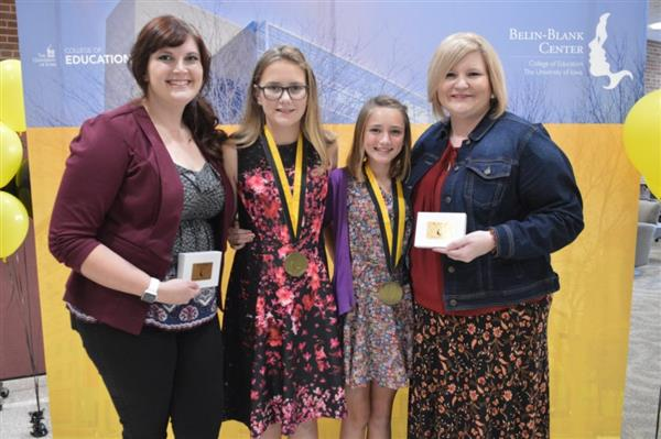 Two Council Bluffs Community School Students Receive Belin-Blank Awards