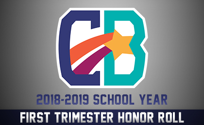 First Trimester Honor Roll Graphic