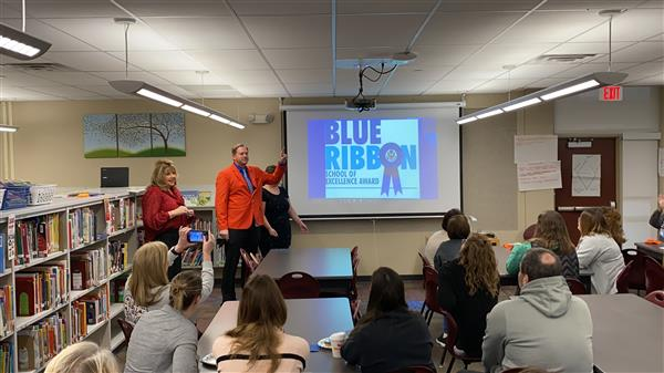 Rue Elementary Named National Blue Ribbon School Nominee