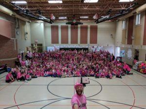 Carter Lake Pink Out Celebration in October 2017