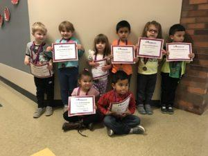 Franklin First Trimester Forever Wall Pre-Kindergarten Students