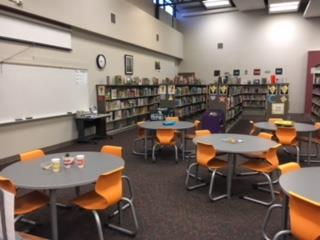 Literacy Games in the Library at Franklin Elementary